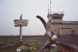 Former Amchitka Airport Tower