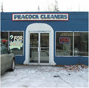 Peacock Cleaners in Anchorage