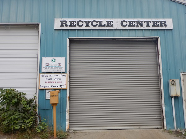 Haines recycling center