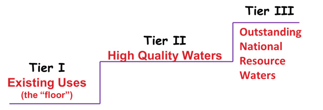 Hierarchy of Waterbody Tiers