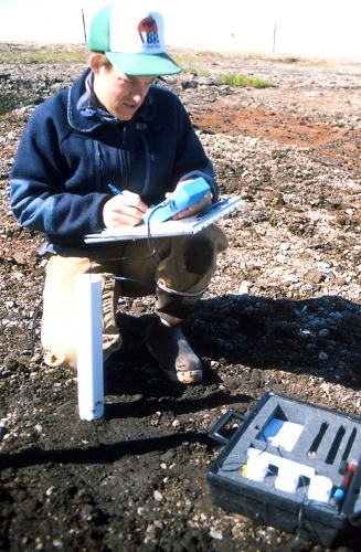 Monitoring groundwater