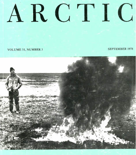 cover of Arctic magazine from 1979