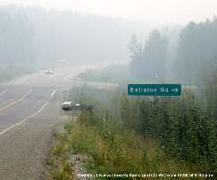 fine particulate - wildland fire smoke and road