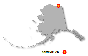 State map showing spill location